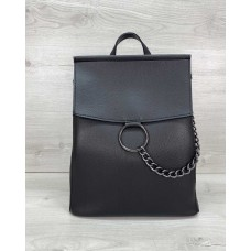 Сумка рюкзак «Марио» черный Welassie 46504