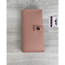 Жіночий гаманець персиковий Welassie 70110