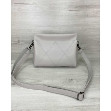 Жіноча сумка «Стелла» сіра Welassie 64201