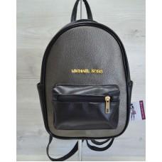 """Молодежный рюкзак """"Корс"""" металик 43305"""