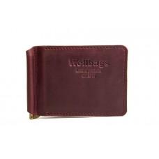Зажим для денег Money Keeper vinous Z002.6 бордовый