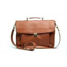 Портфель Wellbags Briefcase Vintage leather W060 рыжий
