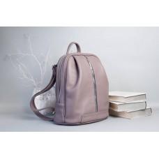 Рюкзак Wellbags Monik Leather Backpack dusty pink w062.2 порошно-рожевий