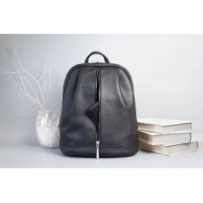 Рюкзак Wellbags Monik Leather Backpack black w062.4 чорний