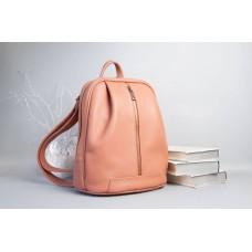 Рюкзак Wellbags Monik Leather Backpack ginger w062.5 рудий