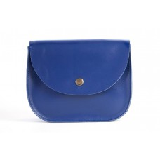Мини сумка Wellbags Saddle royal blue mini w008.7m синяя