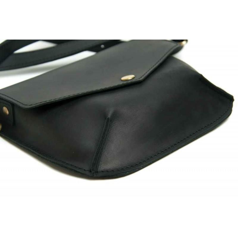 Жіноча шкіряна сумка Flapbag little black купити від виробника ... d029eba90d677