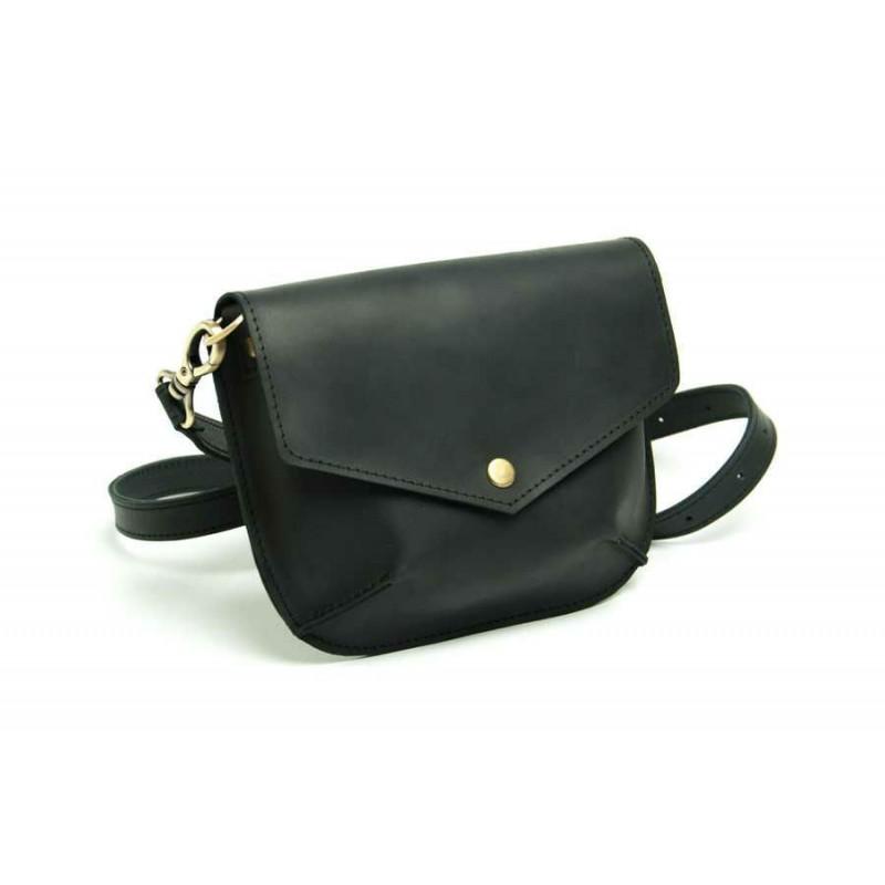 Женская кожаная сумка Flapbag little black купить от производителя ... 91b8cb98d3c