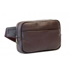 Сумка на пояс WELLBAGS Waist Bag Leon brown wb020.2 коричневая