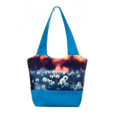 Міська сумка XYZ С0301 Флер Кульбаби Блакитна