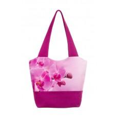 Міська сумка XYZ С0303 Флер Орхідеї Малинова