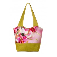 Міська сумка XYZ С0308 Флер Лілія Зелена