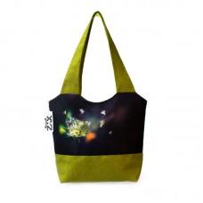 Міська сумка XYZ С0324 Флер Кульбаби Зелена