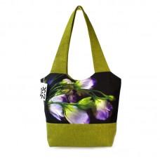 Міська сумка XYZ С0325 Флер Дзвіночок Зелена