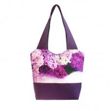 Міська сумка XYZ С0331 Флер Бузок Фіолетова