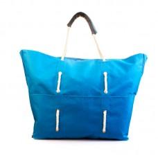 Пляжна сумка XYZ С3001 Безвіз Блакитна