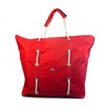 Пляжна сумка XYZ С3003 Безвіз Червона