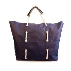 Пляжна сумка XYZ С3004 Безвіз Темно-синя