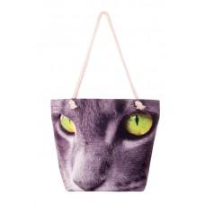 Міська сумка XYZ С0202 Френді Кіт Зелені очі різнокольорова