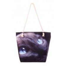 Міська сумка XYZ С0203 Френді Кіт Блакитні очі різнокольорова