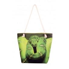 Міська сумка XYZ С0205 Френді Зелений Змій різнокольорова