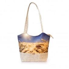 Міська сумка XYZ С0401 Плетінка Жито Зеніт різнокольорова