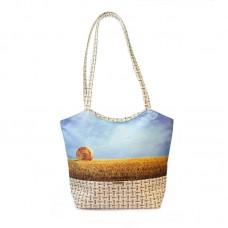 Міська сумка XYZ С0402 Плетінка Жито Сніп різнокольорова