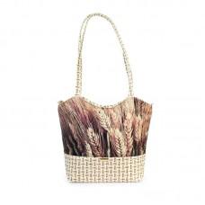 Міська сумка XYZ С0404 Плетінка Жито різнокольорова