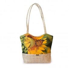 Міська сумка XYZ С0407 Плетінка Соняшник Флай різнокольорова