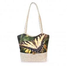 Міська сумка XYZ С0412 Плетінка Флай різнокольорова