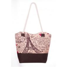 Міська сумка XYZ С0508 Санбич Франція коричнева