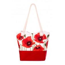 Міська сумка XYZ С0509 Санбич Маки червона