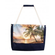 Пляжная сумка XYZ Holiday 2233 пальмы две