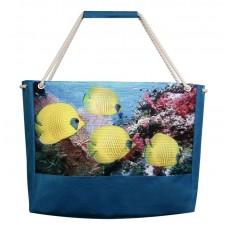 Пляжна сумка XYZ Holiday 2241 риби лимон