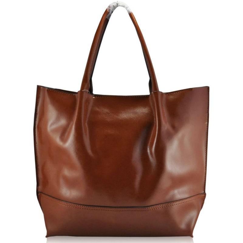 Жіноча шкіряна сумка 8272 руда купити в Києві недорого  66bd2eb911d44