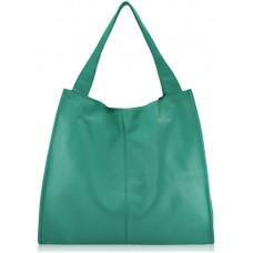 0fe9ae4497f4 Женская кожаная сумка CrossBody Verbenka mint green W059.6 мятно ...