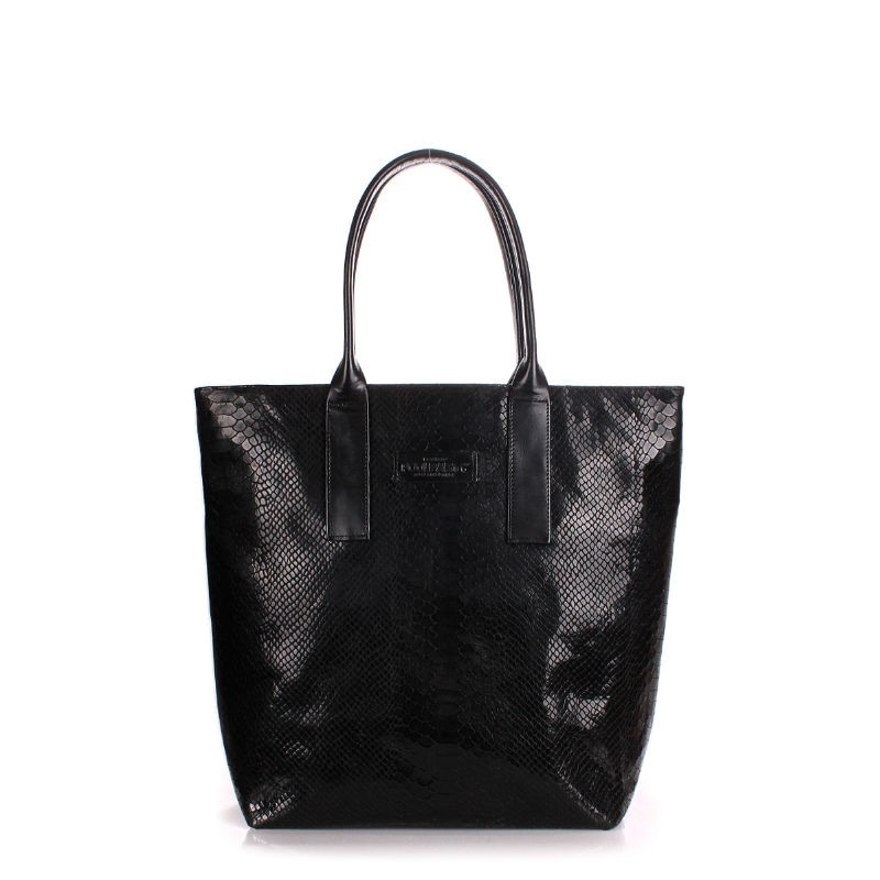 dc7bfcfcfcb8 Женская кожаная сумка POOLPARTY adore-snake-black питон черная ...