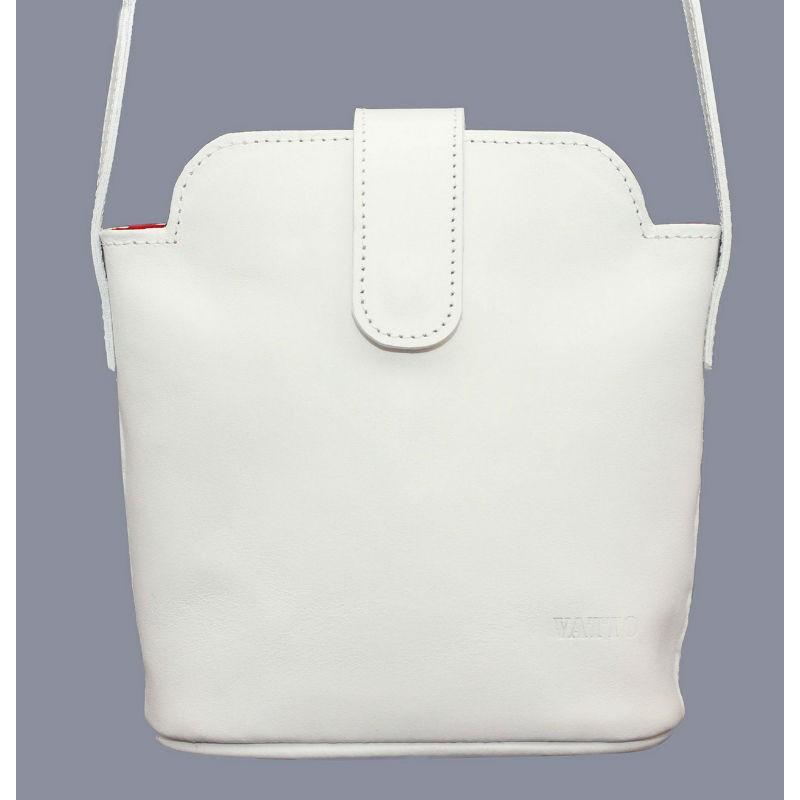 Жіноча шкіряна сумка Wk49Sp2 біла — купити в інтернет-магазині ... 9de279b4645a5