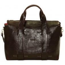 Женская кожаная сумка VATTO Wk23 AL400 коричневая