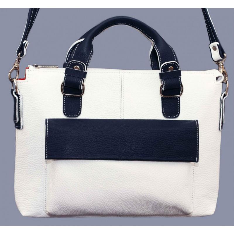 Жіноча шкіряна сумка Wk20 Fl6N4 біла — купити в інтернет-магазині ... 95641e2fc21f8