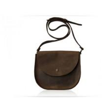 Женская кожаная сумка Wellbags Bag brown Saddle W008 коричневая