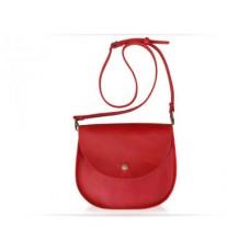 Женская кожаная сумка Wellbags Bag red Saddle W008.4 красная