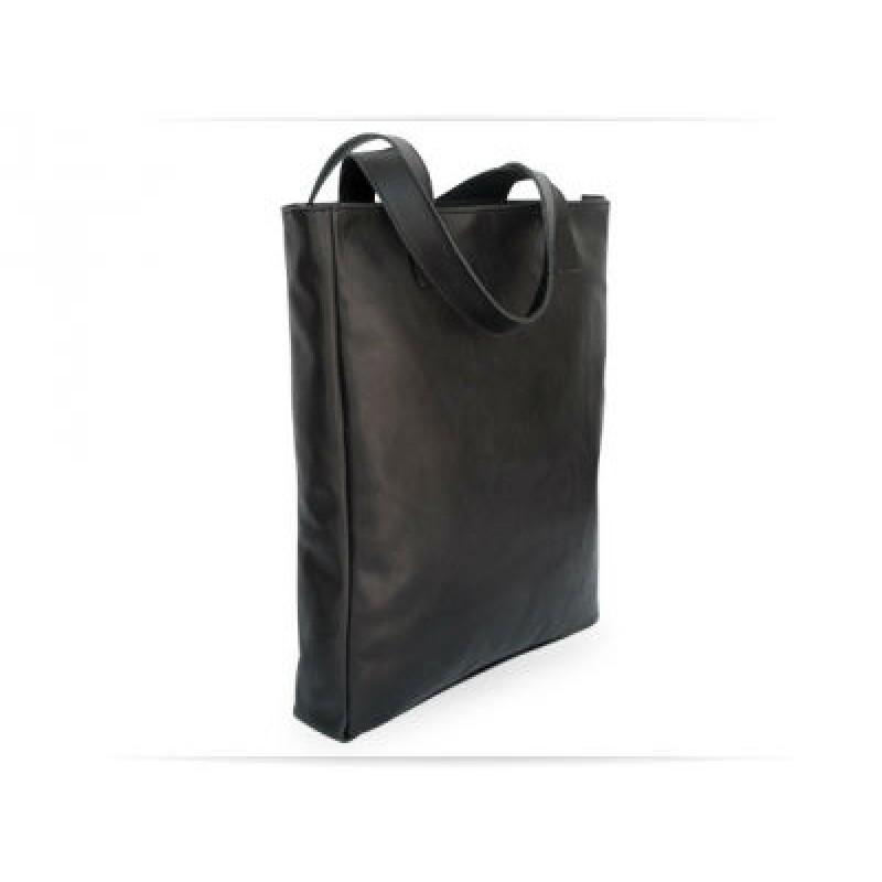 9ecfc1c065a0 Женская кожаная сумка Shopper Black Julia W039.1 чёрная — купить в ...