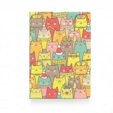 """Обложка для паспорта """"Зимние коты"""""""