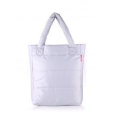 Дутая сумка POOLPARTY ns3 серая