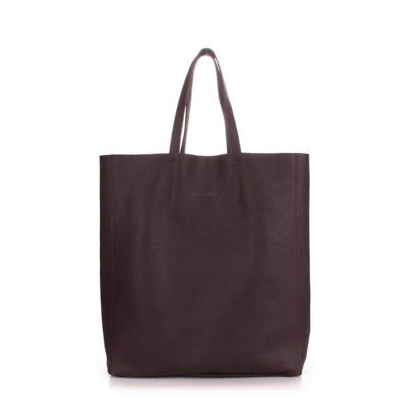 2dece6dba0e2 Женская кожаная сумка POOLPARTY city-brown коричневая купить от ...