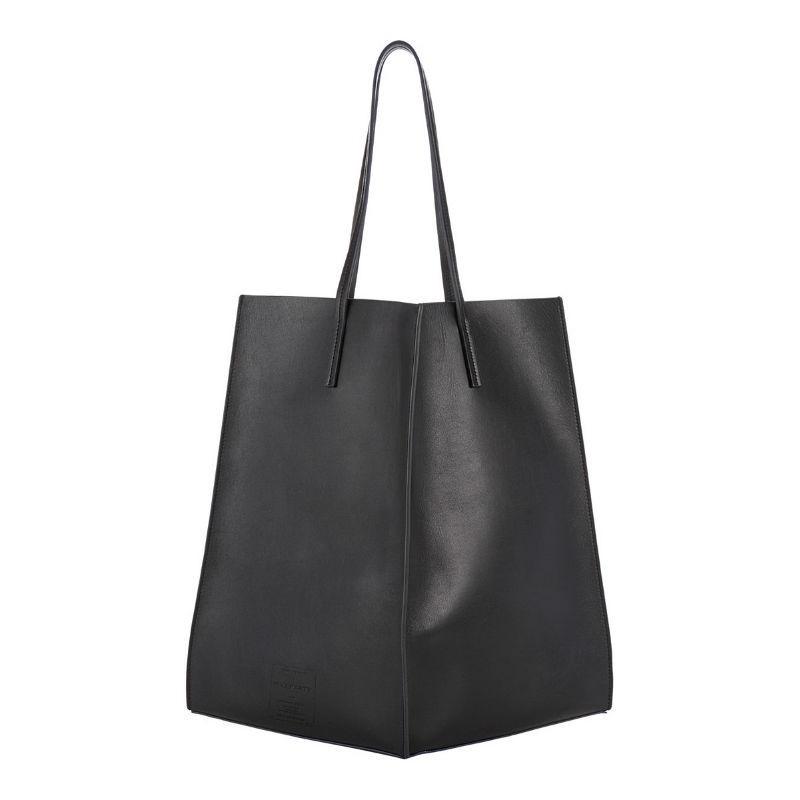 Женская кожаная сумка POOLPARTY milan черная — купить недорого в ... 6af9152bf62