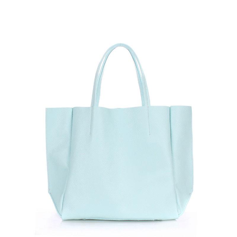 a0c5356dc30d Женская кожаная сумка POOLPARTY soho-babyblue голубая купить от ...