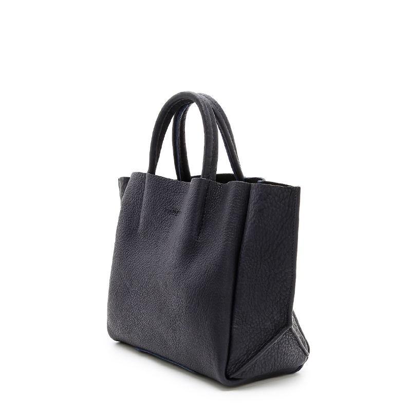 e99acb32f309 Женская кожаная сумка POOLPARTY soho-black черная купить от ...