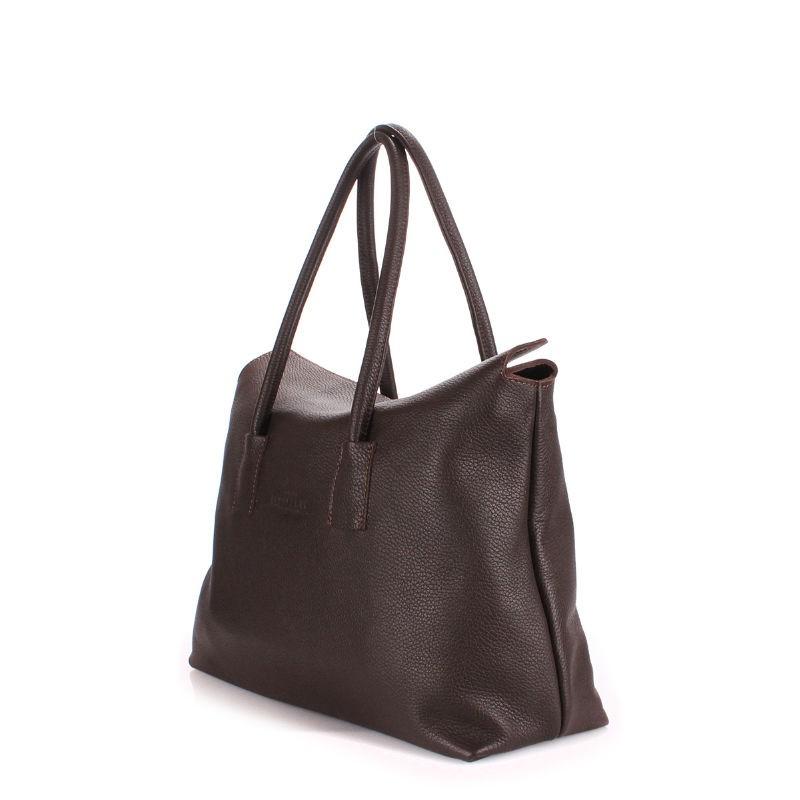 d564ec2ae873 Женская кожаная сумка POOLPARTY sense-brown коричневая купить от ...